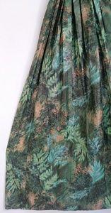 Vintage Dresses - Vintage 50s cotton gold sequin dress pleats skirt